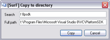 Copy to directory